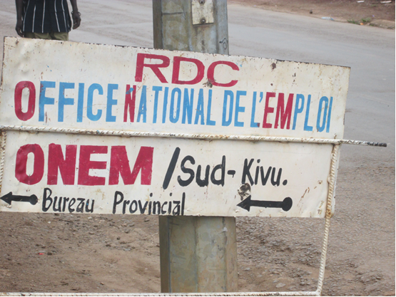 Emploi RDC