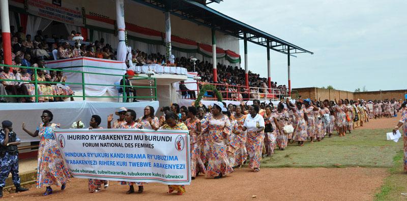Les femmes au Burundi